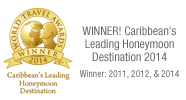 Winner! Caribbean's Leading Honeymoon Destination
