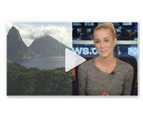 Kellie Pickler's Saint Lucia