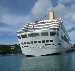 Port Castries Welcomes First Cruise Ship for Season 2012/13